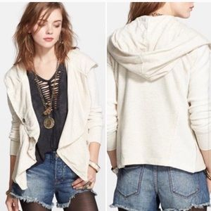 Free people oatmeal clementine lace inset L A4